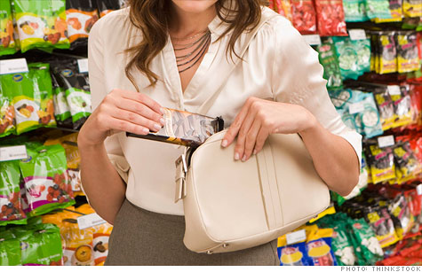 Shoplifting on the rise: A sign of recovery?