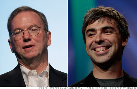 Google Chairman Eric Schmidt and CEO Larry Page may be hit with subpoenas in an antitrust investigation.