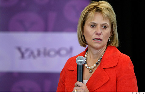 Yahoo CEO Carol Bartz faced a grilling at the company's shareholder meeting.