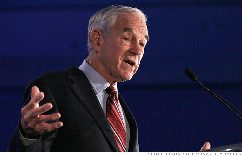 Ron Paul wants the gold at Fort Knox audited.