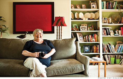 Susan Berne is 71 and taking too many risks with her investment portfolio.