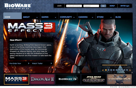 Electronic Arts hack: Customer info stolen from BioWare unit