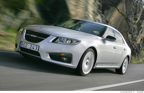 Saab had recently begun selling a new version of the 9-5 sedan developed while it was still part of General Motors.