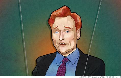 Bluewater Productions makes celebrities and famous figures the new superheroes of the comic book world. The latest subject?  Conan O'Brien.