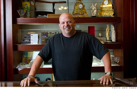 Successful pawn shop owner Rick Harrison is the star of reality show ''Pawn Stars.''