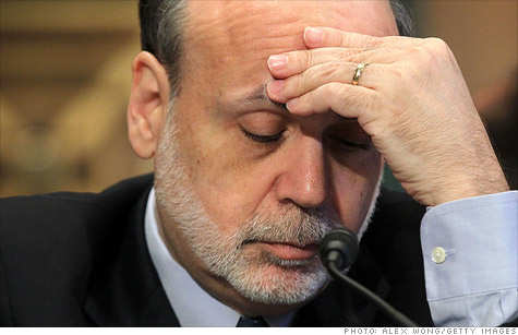 Federal Reserve chairman Ben Bernanke prepares to give testimony to Congress on montary policy and the state of the economy.