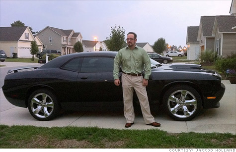 Jarrod Holland loves his 2011 Dodge Challenger. But in a year, he'll want something else.