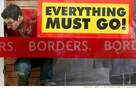 Borders inches closer to liquidation.