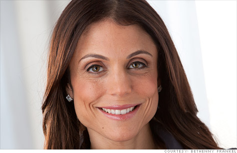 Reality star Bethenny Frankel turned $8,000 into $120 million.