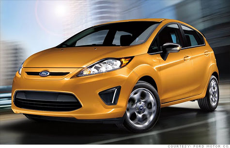 Small cars like the Ford Fiesta, as well as hybrids and electric cars, will play an important role as fuel economy requirements tighten.
