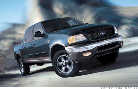 Ford is recalls F-150's, F-250's an because straps that secure the gas tank could rust and break.