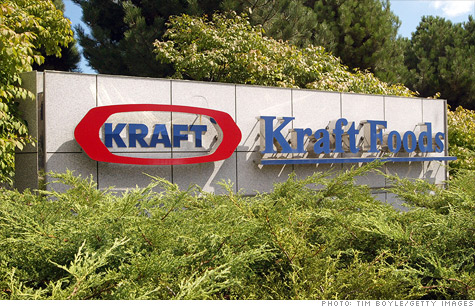 Kraft Foods is splitting the company in two.