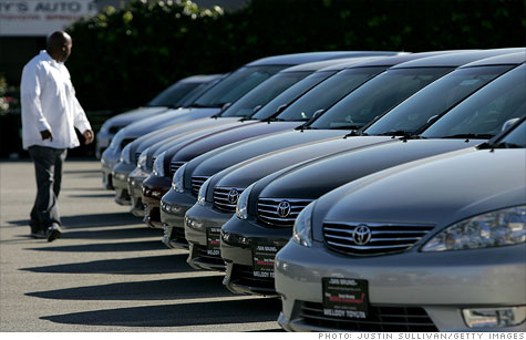 Japanese automakers, feeling the pressure of sliding market share, may touch off an incentive war, analysts say.