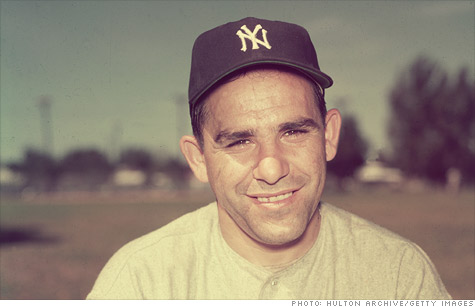 New York Yankees great Yogi Berra famously said,