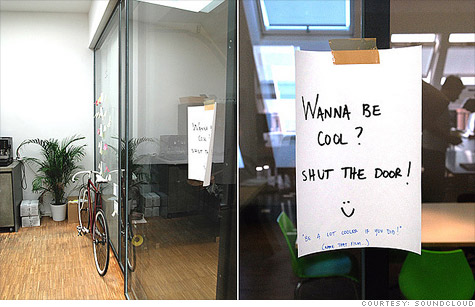SoundCloud's Berlin office has the same decor and whimsical vibe found throughout Silicon Valley's startups.
