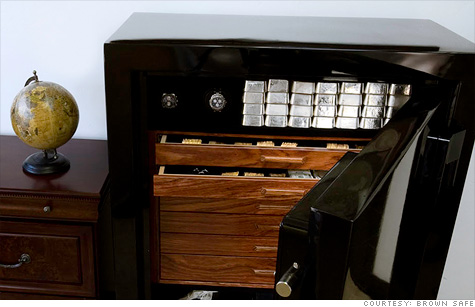 Sales of security safes and luxury vaults increase