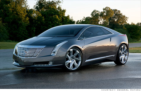 GM will build a production version of its Cadillac Converj Concept to be called the Cadillac ELR.