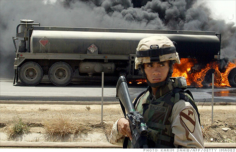 Minimizing the armed forces' dependence on oil saves soldiers' lives and the move towards renewables is a lifeline like no other for the green energy industry.