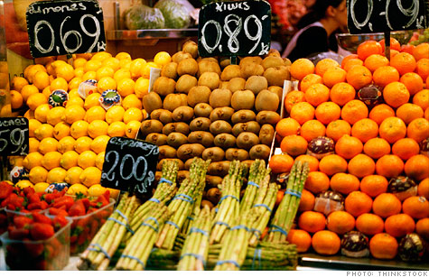 Food prices are up 4.2% and gas rose 33.6% over the last 12 months. Stripping out those items though, consumer prices are up 1.8%, according to government inflation figures released Thursday.