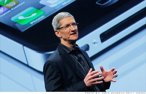 Apple gives Tim Cook $384 million stock grant