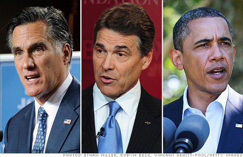 Who can solve the jobs problem? Not Republican presidential hopefuls Mitt Romney and Rick Perry or President Obama. Only Corporate America can.