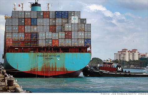 U.S. trade balance narrows to $44.8 billion in July