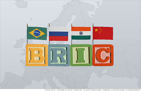 Brazil, Russia, India and China -- the so-called BRIC nations -- may look to buy the debt of troubled European countries. But will it end the euro crisis?