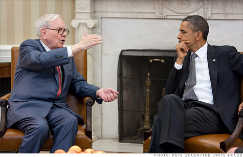 Obama has named the new tax proposal after billionaire Warren Buffett, who supports taxing the rich.
