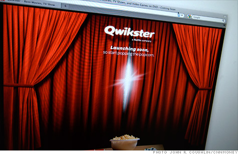 Netflix is rebranding its 12-year-old movies-by-mail service as Qwikster and adding video games to its catalog.