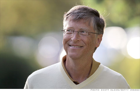 Bill Gates is still the richest person in America.
