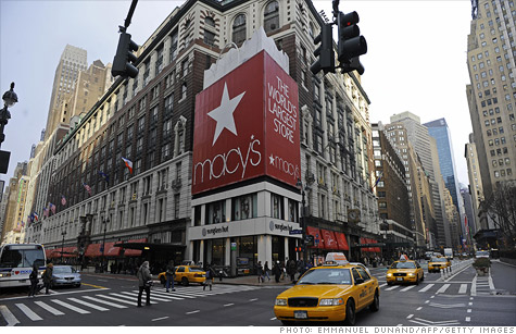 Macy's is hiring 78,000 seasonal workers to handle the holiday rush.