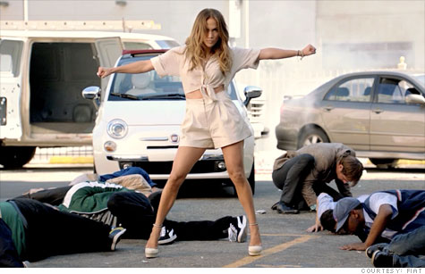 J.Lo and her Fiat
