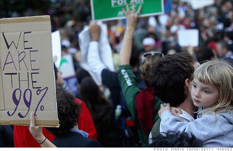 Occupy Wall Street protestors: