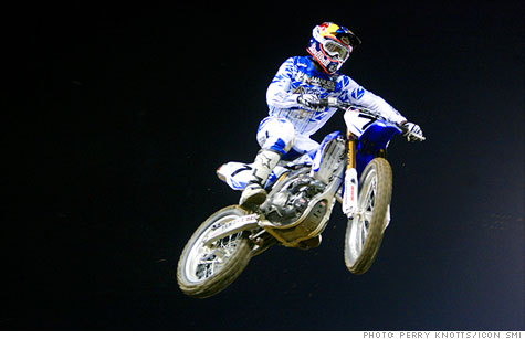 James Stewart's daredevil style fuels success -- and some YouTubeworthy crashes.