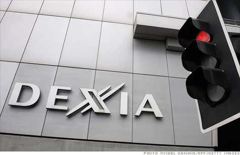 Dexia is the first European bank to get bailed out.