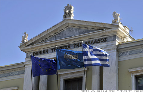 Greece has moved one step closer to receiving the next installment of its first round of bailout funds in early November.