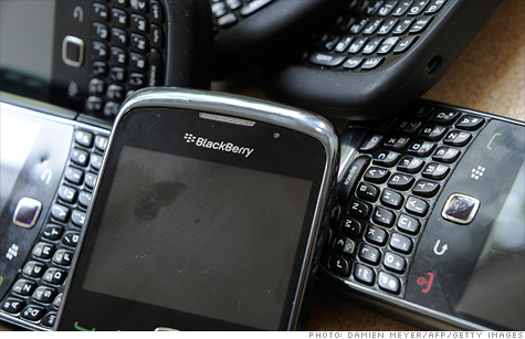 BlackBerry outage is another black eye for RIMM