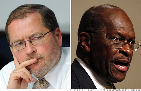 Grover Norquist is not a fan of Herman Cain's 9-9-9 plan.