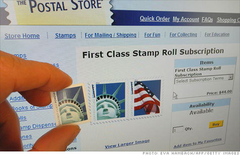 Postage prices go up ... again