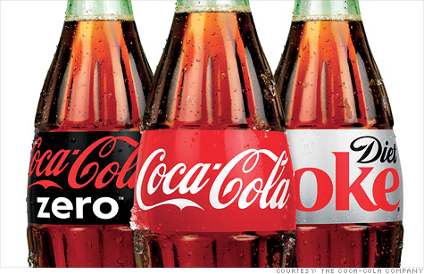 Coca-Cola's stock continues to rise in a flat market