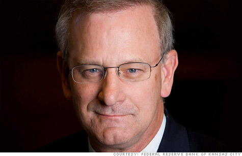 Former KC Fed President Thomas Hoenig is President Obama's pick for the No. 2 position at the FDIC.