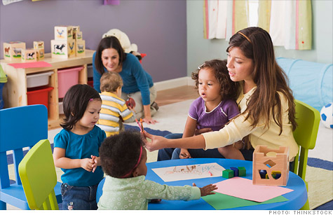 Child Care top ten business careers
