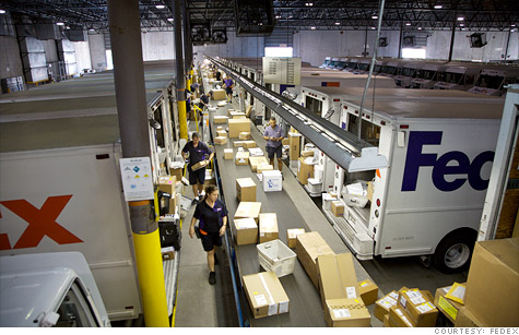FedEx says it will ship more than 260 million packages this holiday season, a 12% increase from last year.
