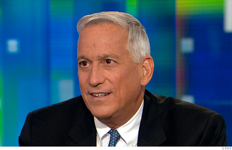 Steve Jobs biographer Walter Isaacson appears on