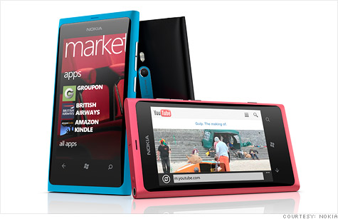 Nokia unveils two new smartphones: Lumia 800 and Lumia 710