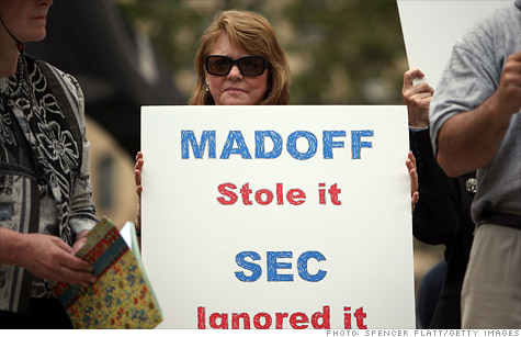 Madoff victims upset by new media attention on Ponzi schemer.