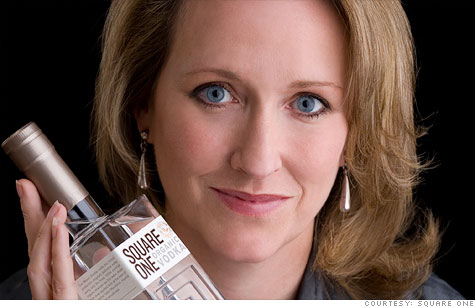 Square One Organic Vodka founder Allison Evanow