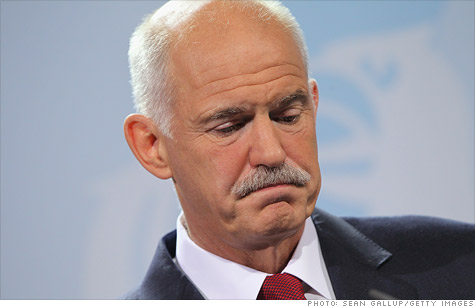 Greek prime minister George Papandreou stunned the global markets by announcing a referendum on the Europe debt deal. If Greek voters reject the deal, Greece could default.