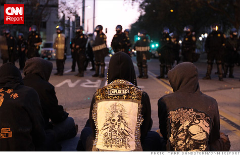 The Occupy Wall Street movement in Oakland, Calif., plans a citywide general strike Wednesday.