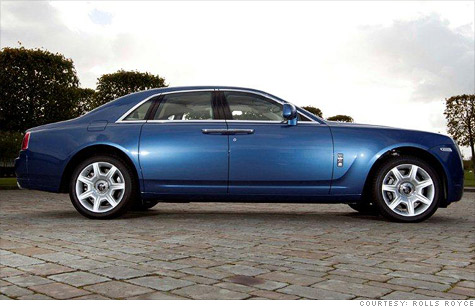 The Rolls-Royce Ghost, the least expesisve Rolls-Royce model -- starting at $245,000 -- is being recalled. It shares much of its engineering with the BMW 7-series.